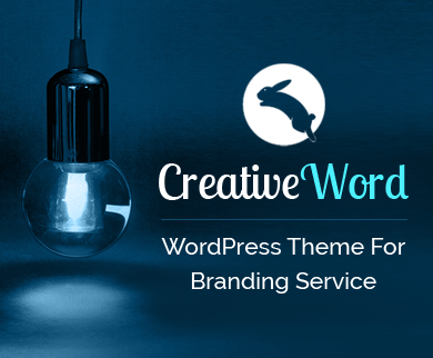 Creative Word - Branding & Marketing Service WordPress Theme
