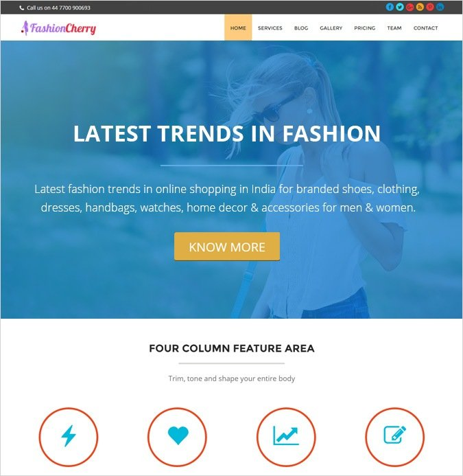 Fashion - OnePage
