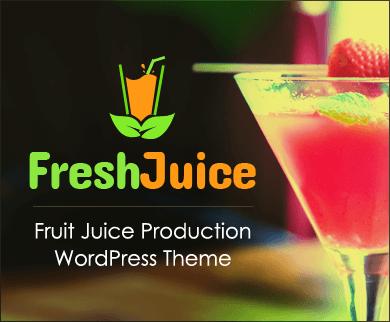 FreshJuice - Fruit Juice Production WordPress Theme