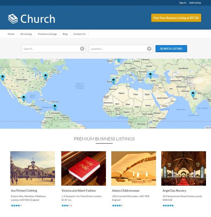 Geocraft Content-Church