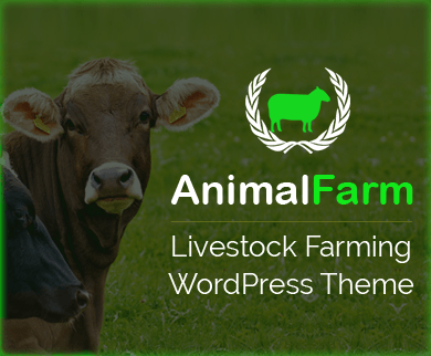 AnimalFarm - Livestock Farming WordPress Theme