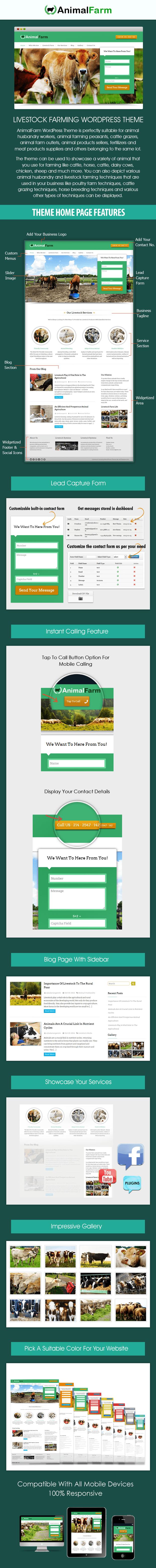 Livestock Farming WordPress Theme