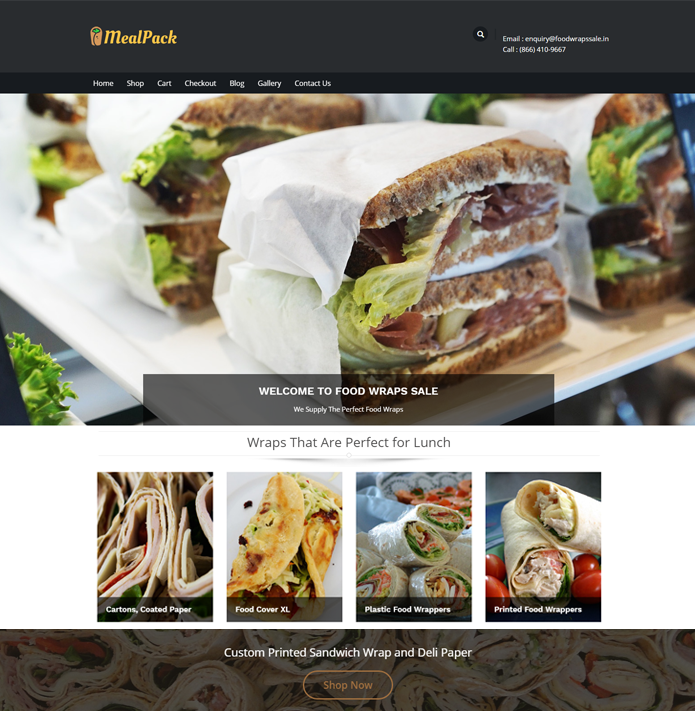 Meal Pack WordPress Theme