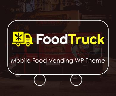 FoodTruck - Mobile Food Vending WordPress Theme