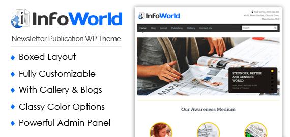 InfoWorld\' Newsletter Publication WordPress Theme | InkThemes