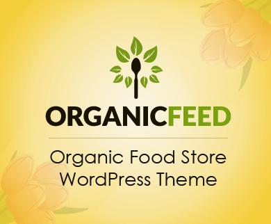OrganicFeed - Organic & Natural Food Store WordPress Theme