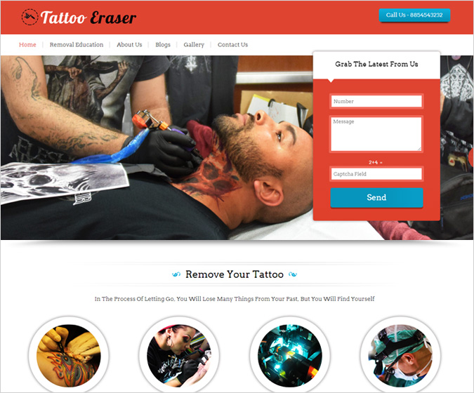 TattooEraser WordPress Theme