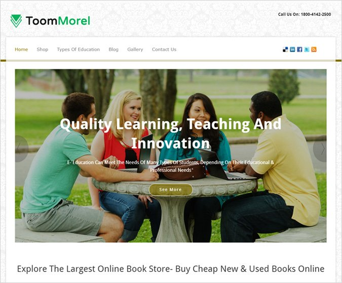ToomMorel WordPress Theme