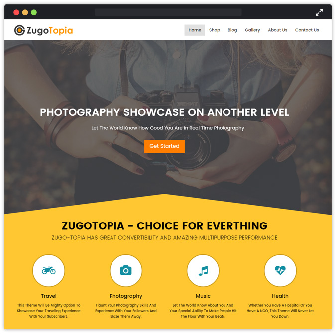 ZugoTopia WordPress Theme