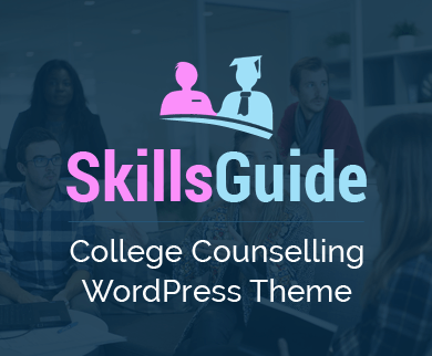 SkillsGuide - College Counselling WordPress Theme