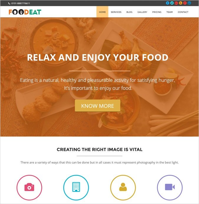 onepage-FOOD