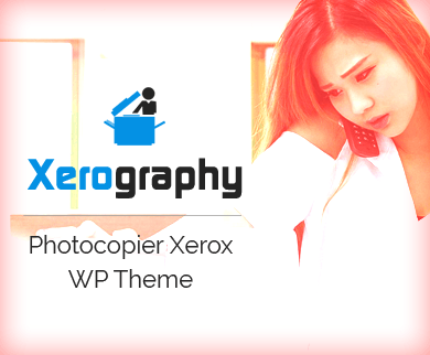Xerography - Photocopier Xerox eCommerce WordPress Theme