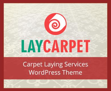LayCarpet - Carpet Laying Service WordPress Theme