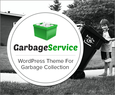 GarbageService - Garbage Collection WordPress Theme