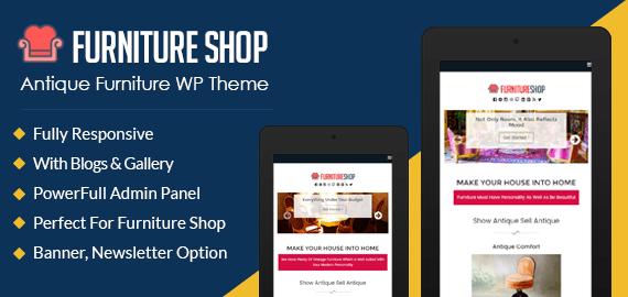 Antique Furniture WordPress Theme