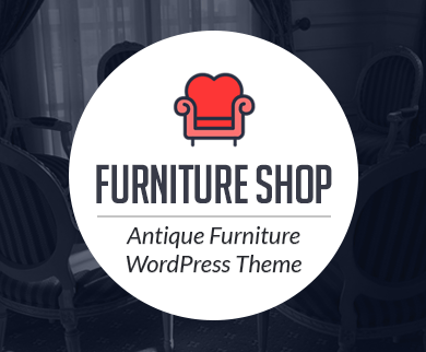 FurnitureShop - Antique Furniture WordPress Theme