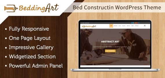 Bed Construction WordPress Theme