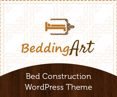 BeddingArt - Bed Construction WordPress Theme