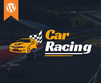 CarRacing - Car Racing WordPress Theme