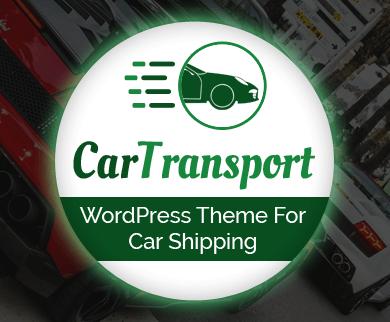 CarTransport - Car Shipping WordPress Theme