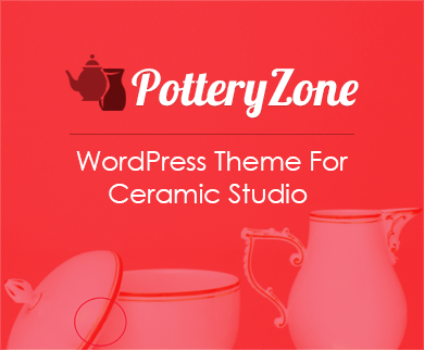 PotteryZone - Ceramic Studio WordPress Theme