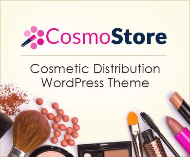 CosmoStore - Cosmetics Distribution WordPress Theme