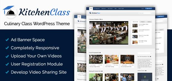 Culinary Class WordPress Theme