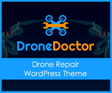 DroneDoctor - Drone Repair WordPress Theme