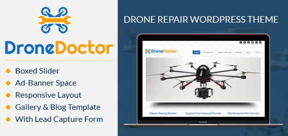 Drone Repair WordPress Theme