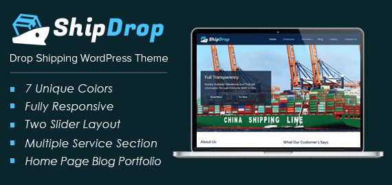 Drop Shipping WordPress Theme