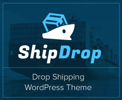 ShipDrop - Drop Shipping WordPress Theme