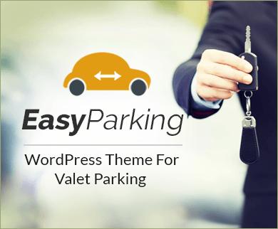 EasyParking - Valet Parking Service Provider WordPress Theme
