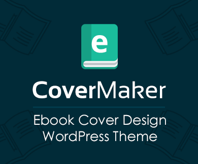 eCoverMaker - Ebook Cover Design WordPress Theme