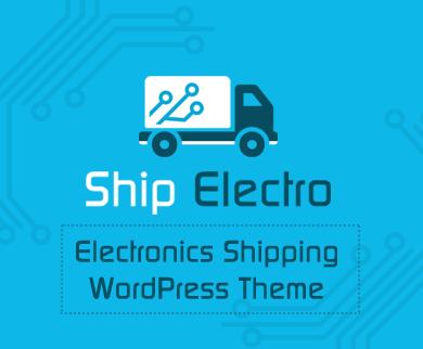ShipElectro - Electronics Shipping WordPress Theme