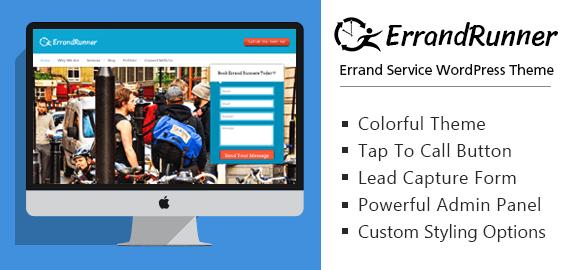 Errand Service WordPress Theme