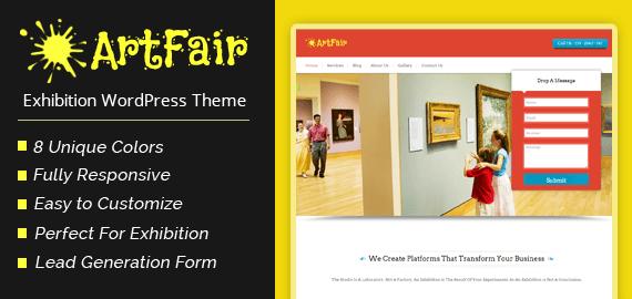 Exhibition WordPress Theme