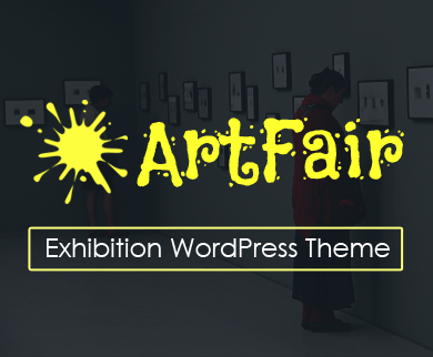 ArtFair - Exhibition WordPress Theme