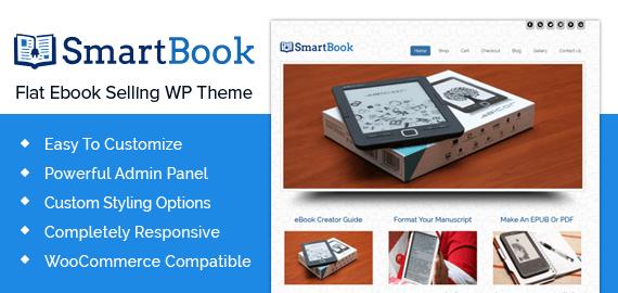 Flat Ebook Selling WordPress Theme