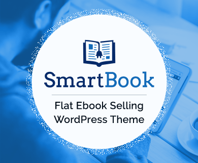 SmartBook - Flat Ebook Selling WordPress Theme