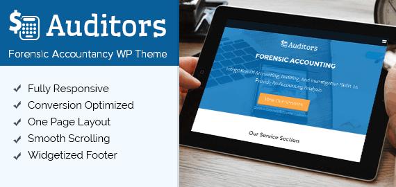 Forensic Accounting WordPress Theme