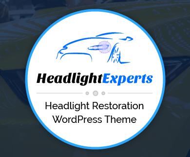 HeadlightExpert - Headlight Restoration WordPress Theme