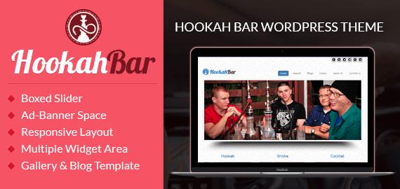 Hookah Bar WordPress Theme
