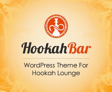 HookahBar - Hookah Bar Restaurant WordPress Theme