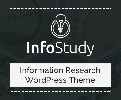 InfoStudy - Information Research Corporate WordPress Theme