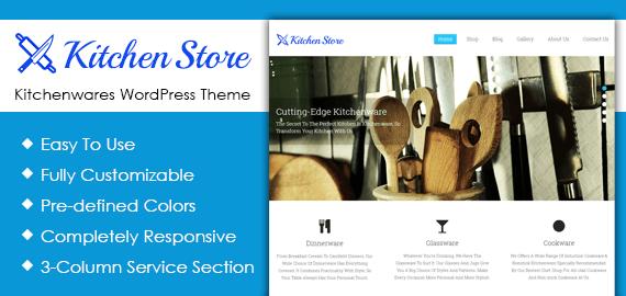 Kitchenwares WordPress Theme