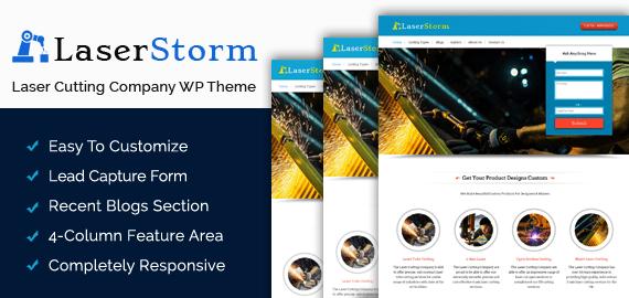 Laser Cutting Company WordPress Theme