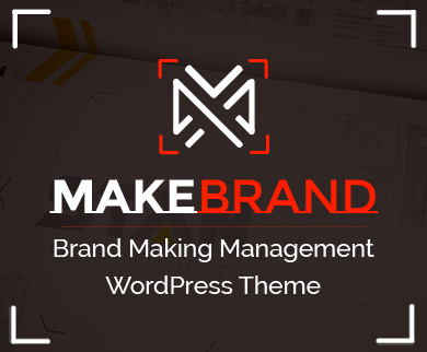 MakeBrand - Brand Making Management WordPress Theme