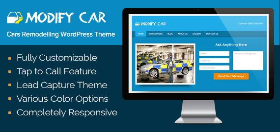 Car Remodelling WordPress Theme