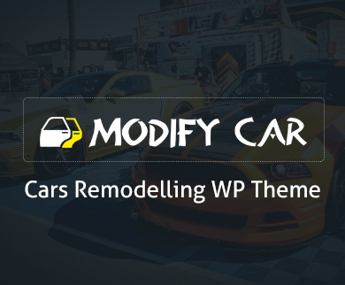 Modify Car - Car Remodelling WordPress Theme