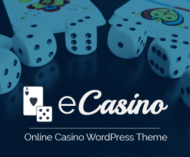 eCasino - Online Casino WordPress Theme
